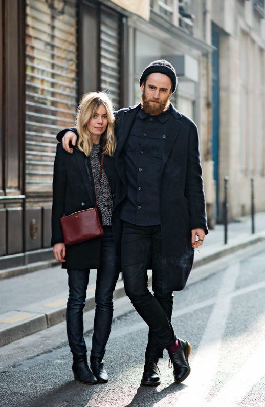 Stylish Couples Street Style Inspiration Siempre Hay Algo Que Ponerse