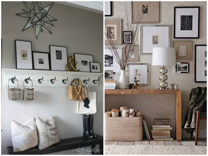 Photo wall collage DIY