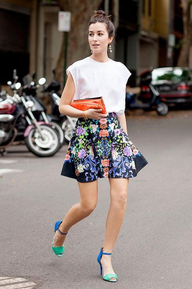 falda flores look verano 14