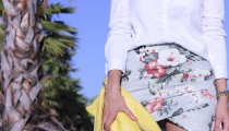 Falda Tropical Zara