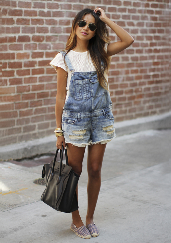 overall summer look