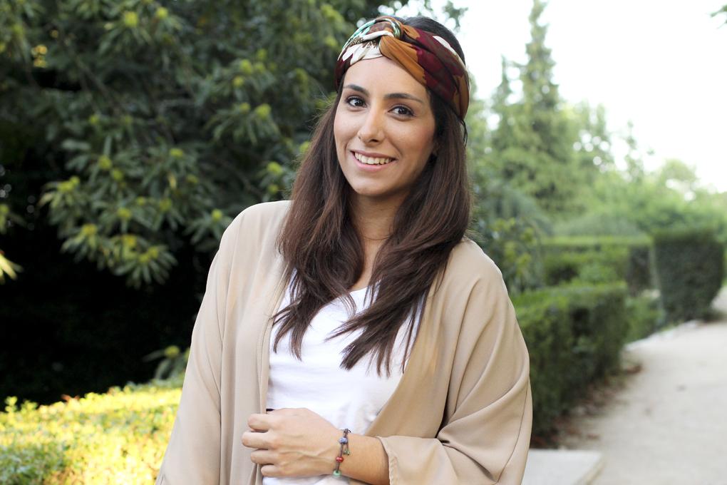 turbante+siemprehayalgoqueponerse+outfitconkimono+kimonoflecos