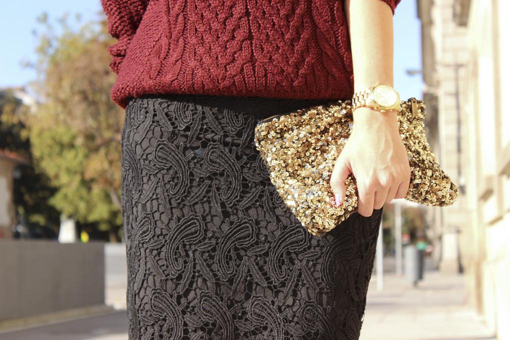 falda-crochet-clutch-lentejuelas-dorado