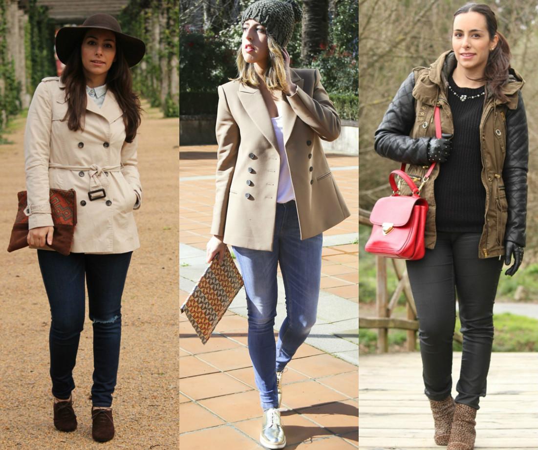 look-estilo-invierno-trench-parka-sombrero-gorro-tendencia