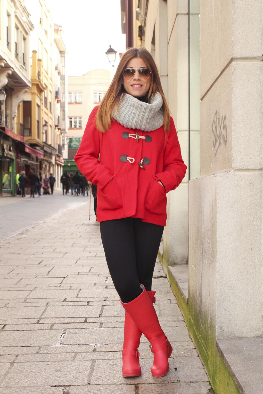 street-style-leon-street-style-españa-invierno-hunter-botas-lluvia