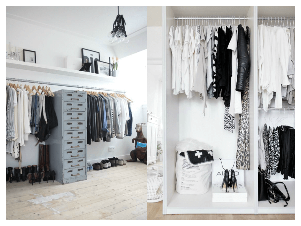 Vestidor - Burro para colgar ropa ...