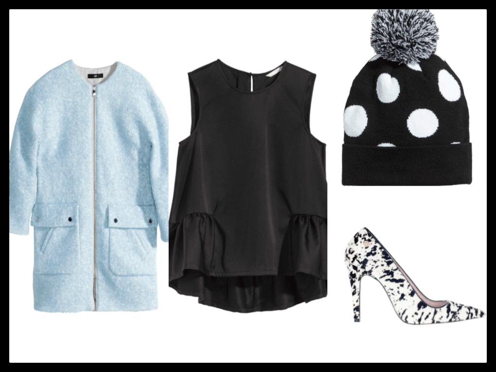 inspiracion-ideas-compras-rebajas-2015-abrigo-azul-beanie-lunares-zapatos-cuplé