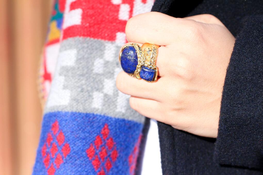 detalle-anillo-piedra-azul-bimbaylola-anillo-dorado-