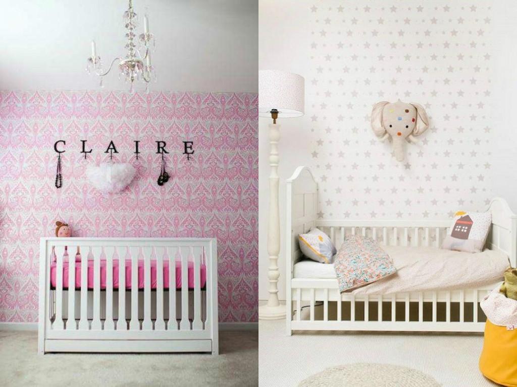 papel-pintado-habitacion-niña-wallpaper-room-baby-decoracion-habitacion-infantil