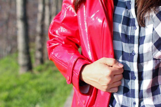 Chubasquero Rojo