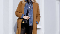 Denim y Camel – Get The Look