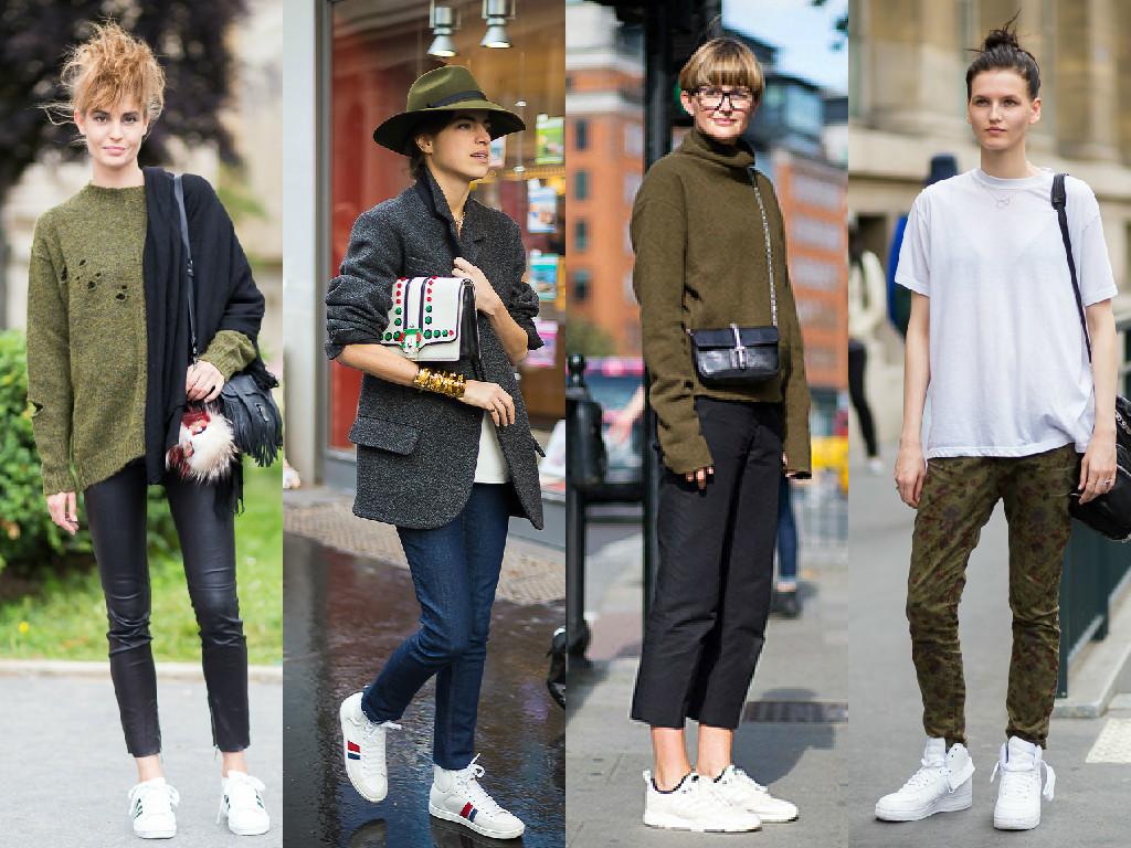 white-trainers-streetstyle-inspo-look-kaki-stansmith-nike-white
