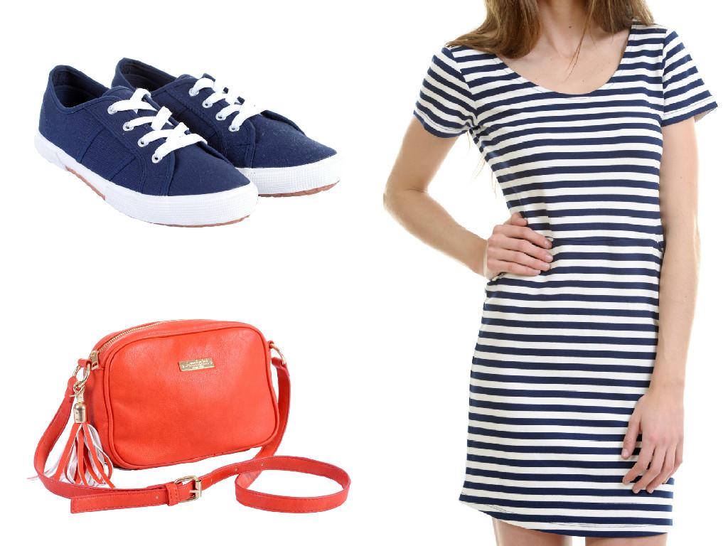vestido-rayas-algodon-deportivas-azul-marino-bolso-mini-rojo-amichi-moda