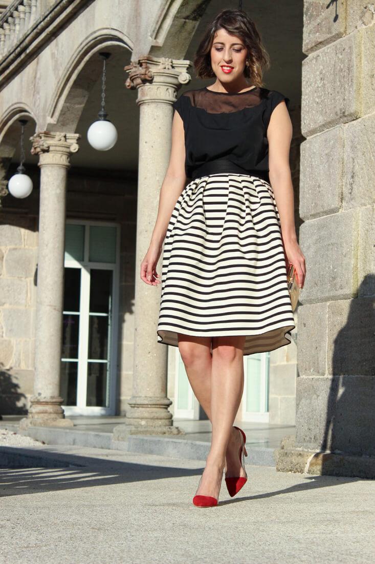 falda-rayas-blancoynegro-suiteblanco-estiletos-krack-blusa-minueto-invitada-boda-2015