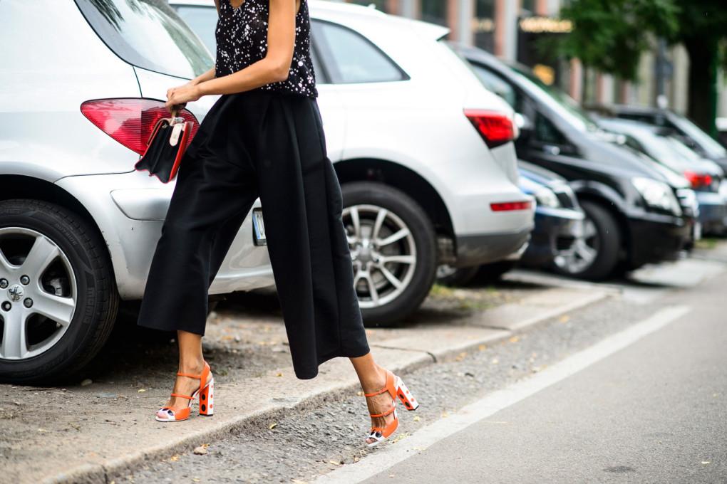 Cómo combinar tu pantalón culotte