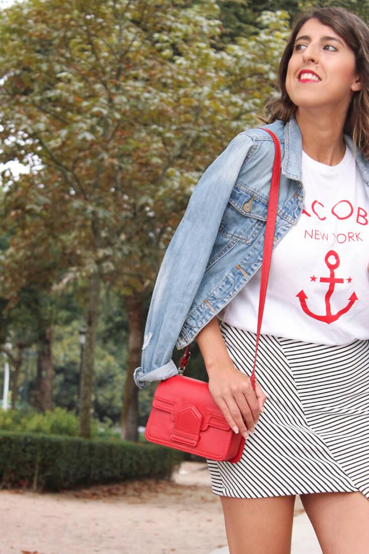 camiseta-ancla-jacobs-falda-rayas-asimetrica-keepcalmtrendy