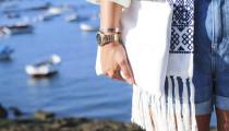 Kimono Flecos Zara