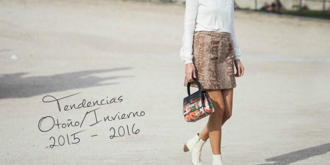 Tendencias Otoño/Invierno 2015