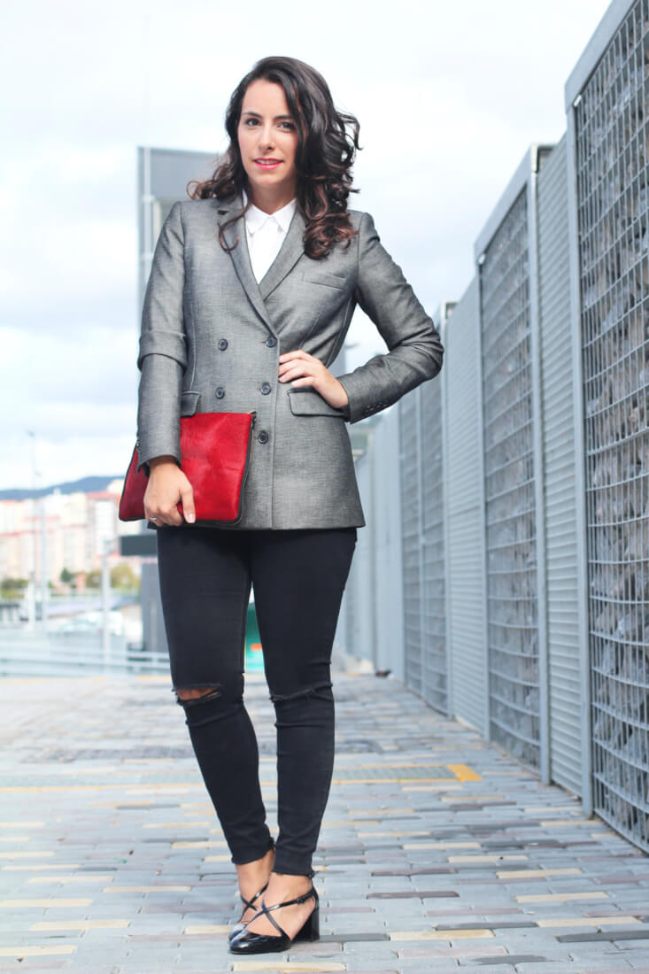 americana-doble-botonadura-street-style-gris-outfit-office
