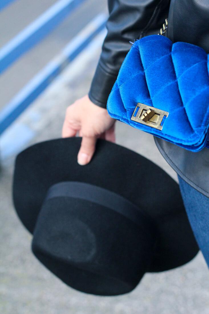 sombrero-ala-look-sombrero-ala-accesorios-bolso-terciopelo-velvet-bag-street-style-velvet