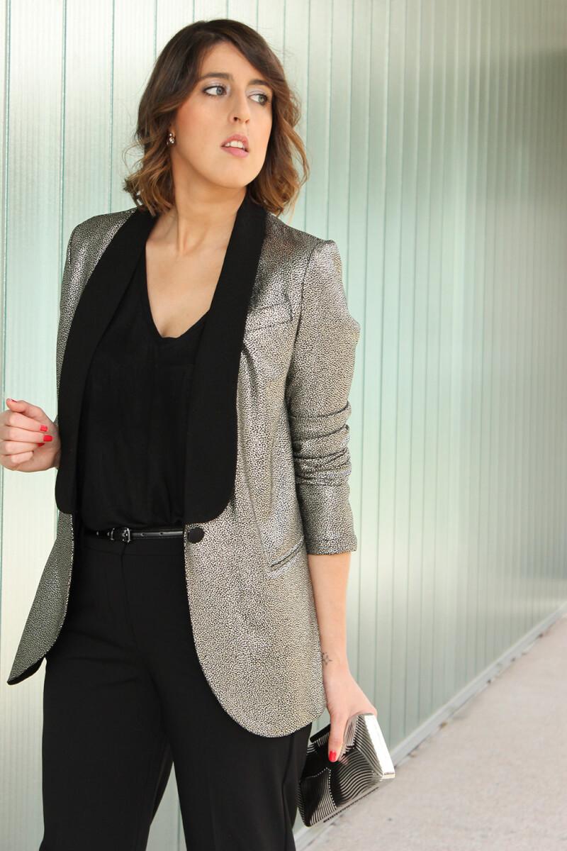 outfit-navidad-2015-blazer-plateada-fin-de-ano