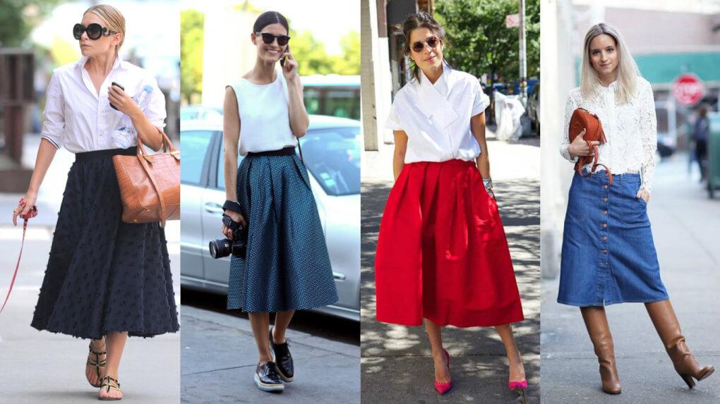 como-combinar-falda-midi-manual-de-uso-de-la-falda-midi-street-style-falda-midi-look-falda-midi