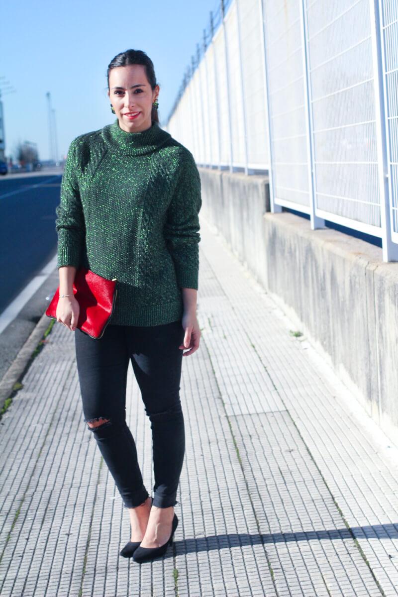 como-combinar-tu-jersey-de-lana-street-style-earrings-look-jersey-lana