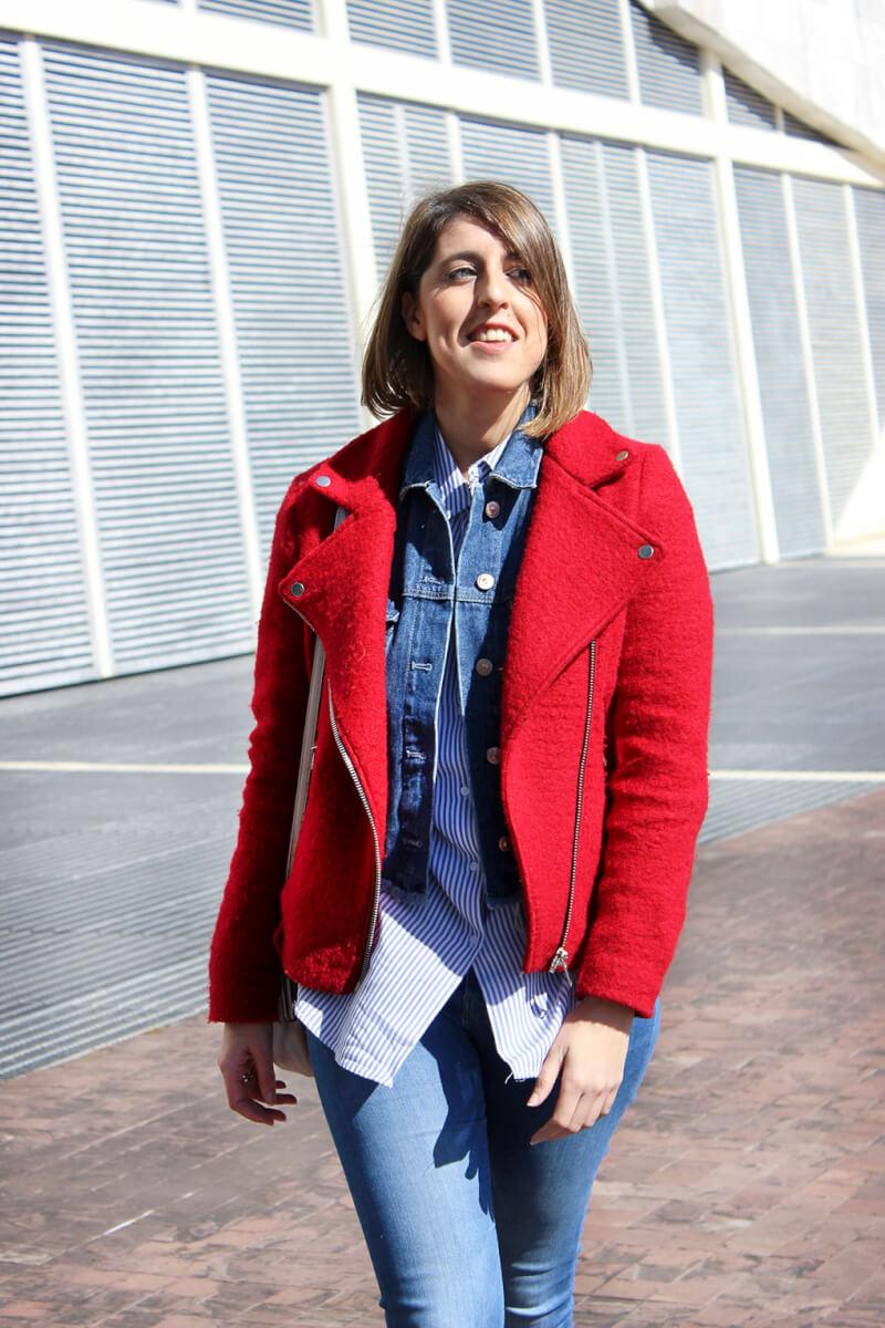 blog-galicia-vigo-como-combinar-cazadora-vaquera-denim-chaqueta-perfecto-roja