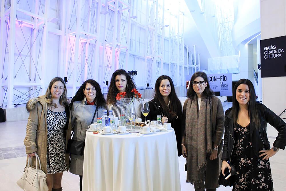 bloguers-gallegas-desayuno-exposición-confio-galicia-cidade-da-cultura-santiago-moda-textil