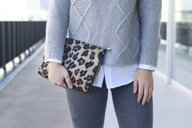Cluch animal print