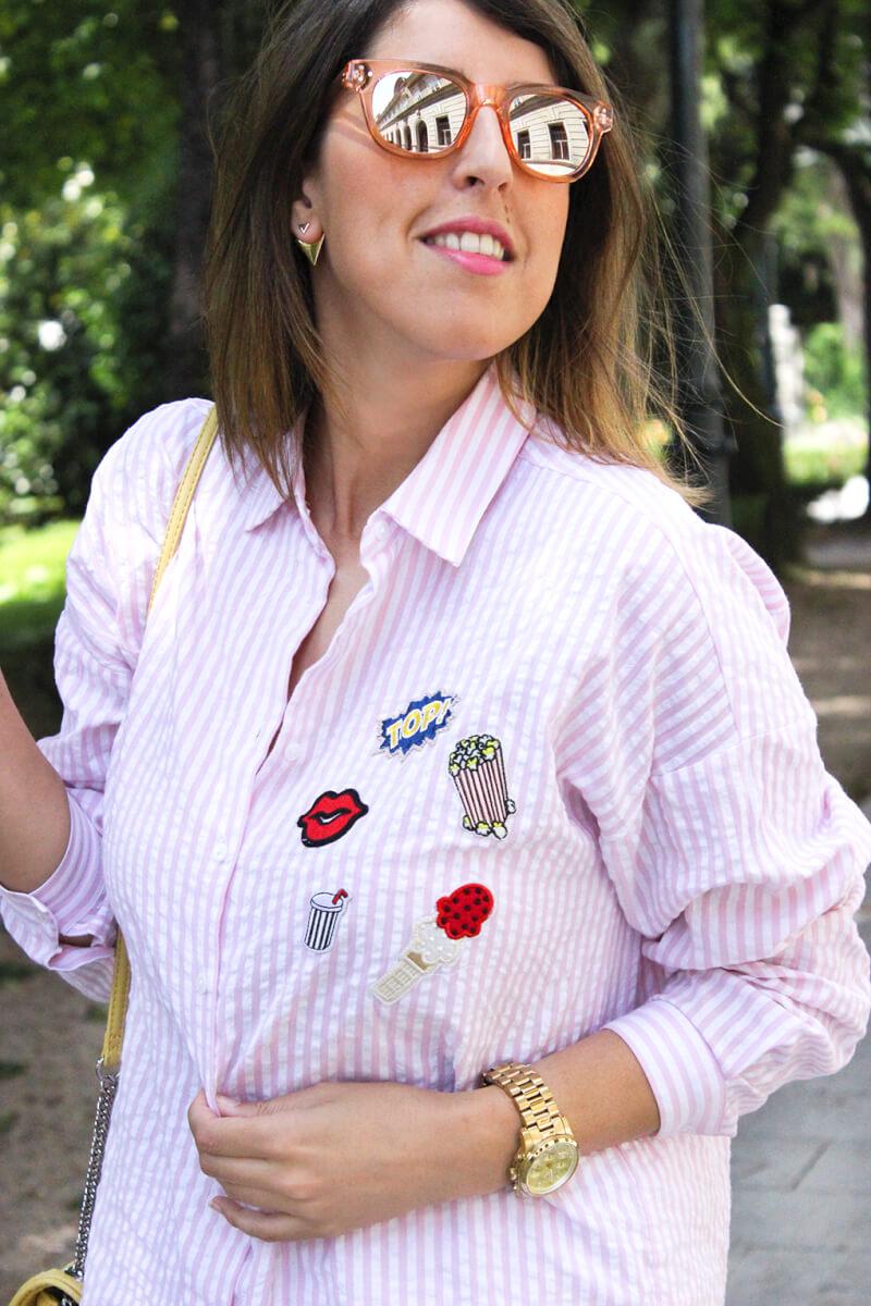 gafas-rosas-sol-espejo-oysho-camisa-con-parches-zara-blog-moda