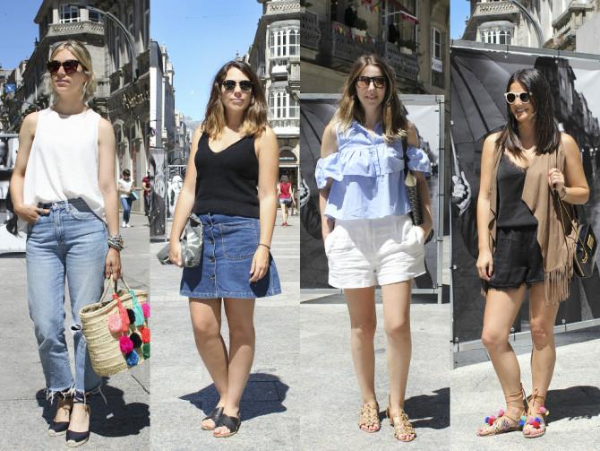 Moda en las calles de Vigo