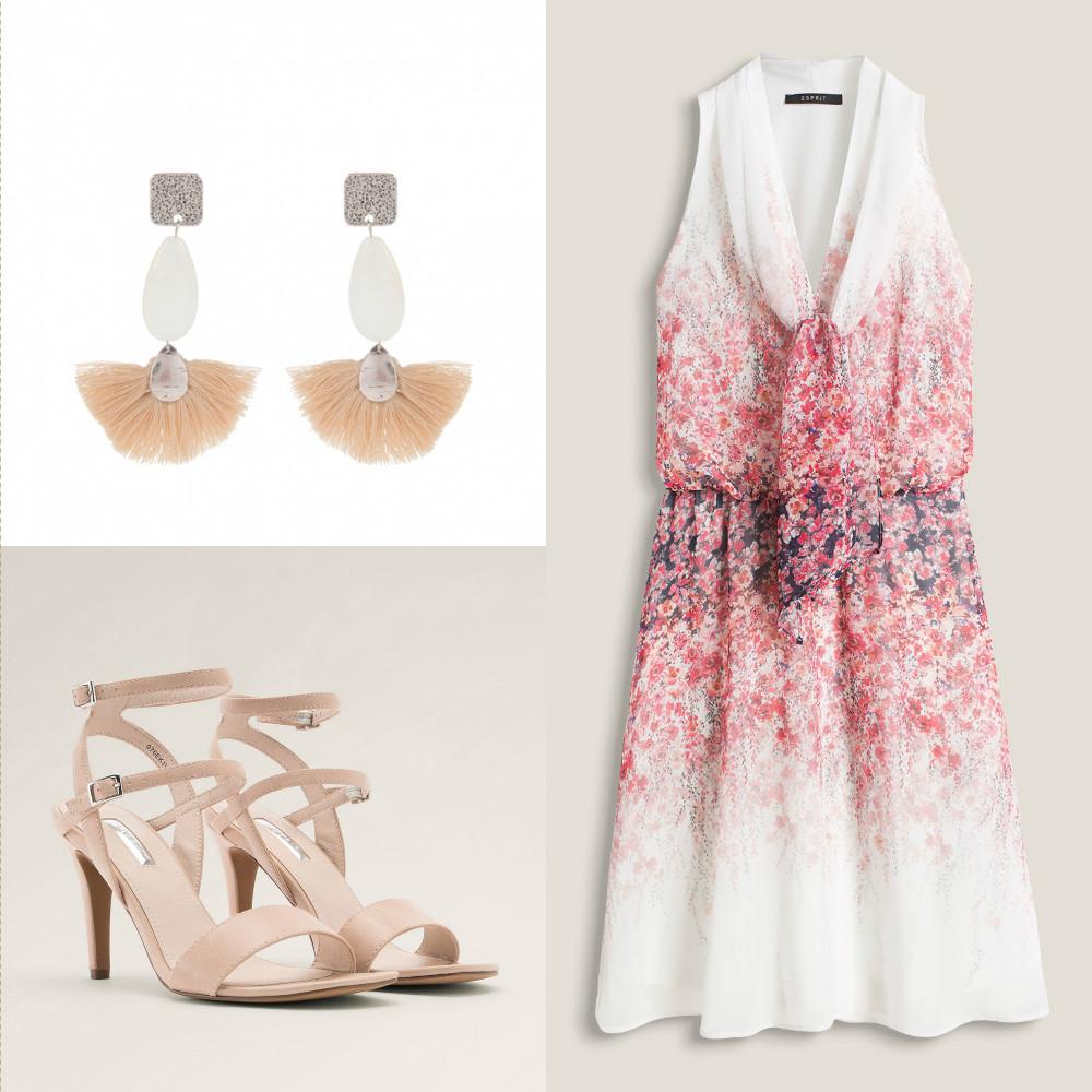 boda-con-un-vestido-sencillo-estampado-invitada-con-pendientes