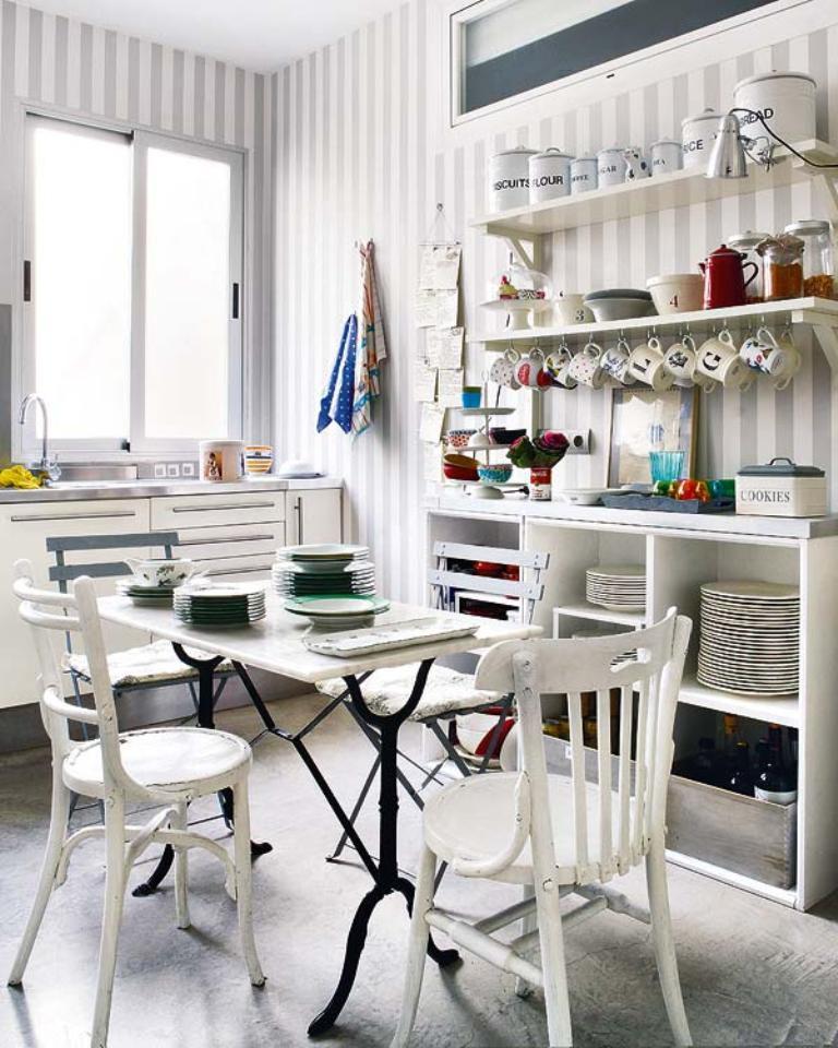 papel-pintado-en-la-cocina-renovar-decoracion-hogar-rayas
