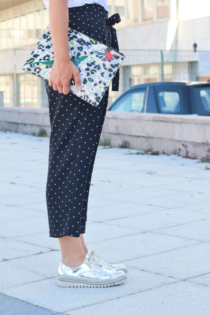 street-style-silver-culotte-lunares