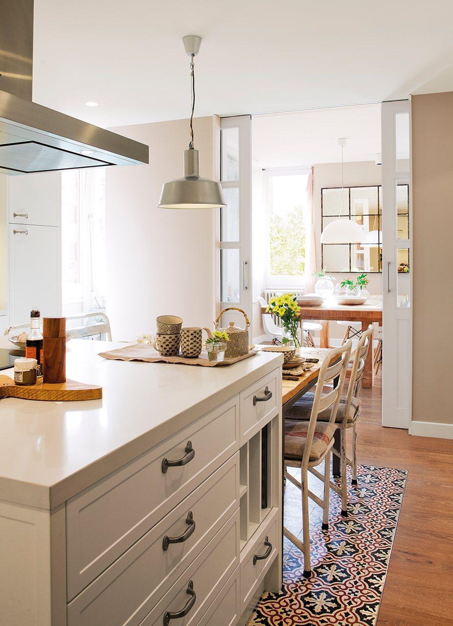 Renueva la decoraci n de la cocina decoraci n hogar - Vinilos suelo cocina ...