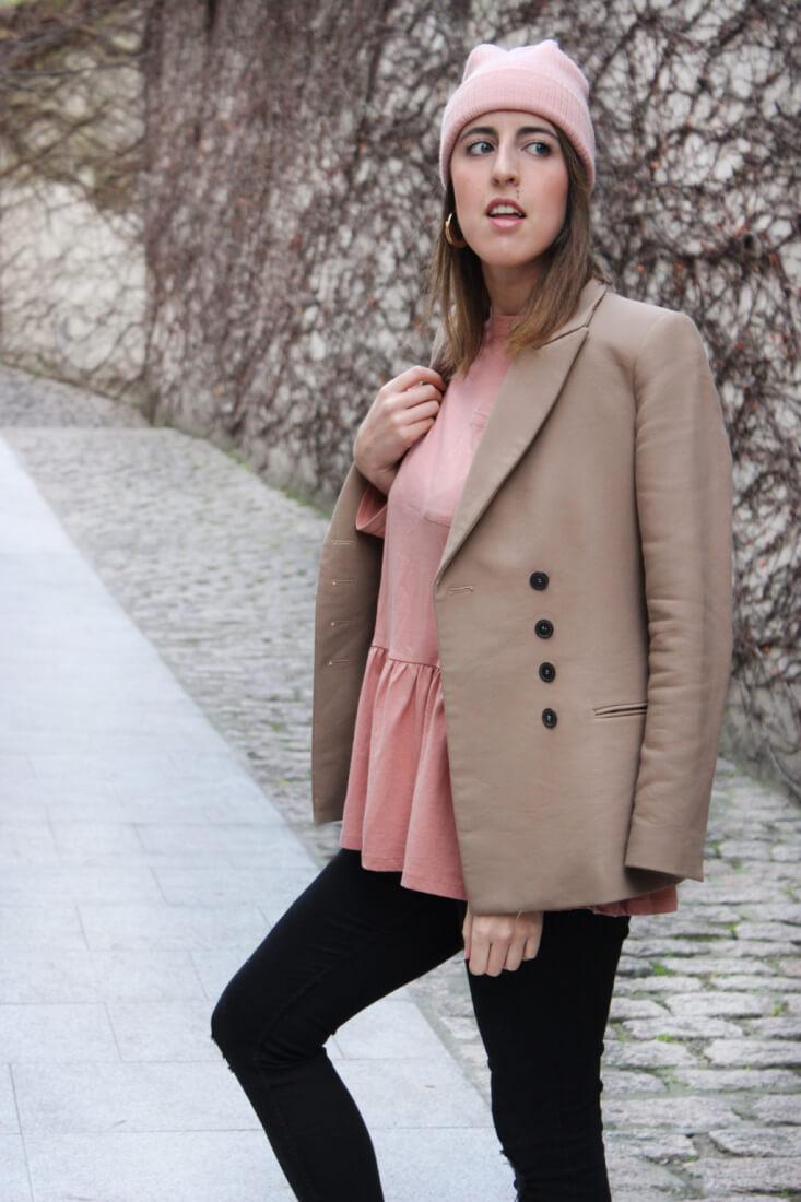 americana-camel-blusa-peplum-blog-moda-galicia