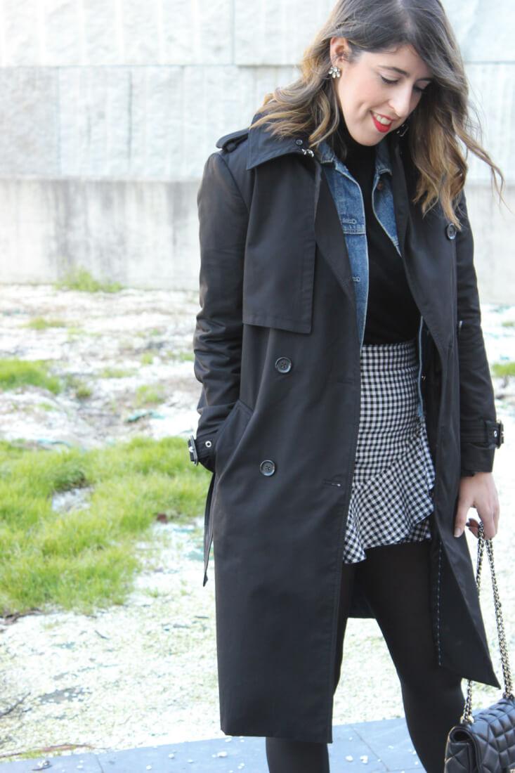 trench-zara-falda-cuadros-vichy-hym-blog-moda