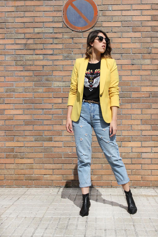 blazer-amarilla-zara-jeans-botines-piel-zara-siemprehayalgoqueponerse