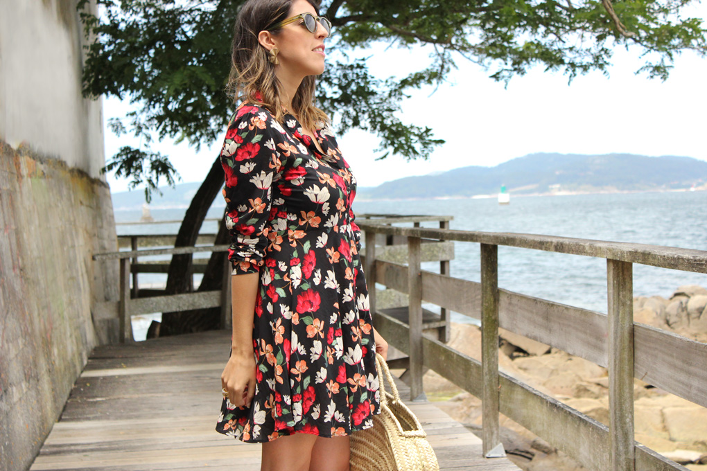 Flower dress from Zara