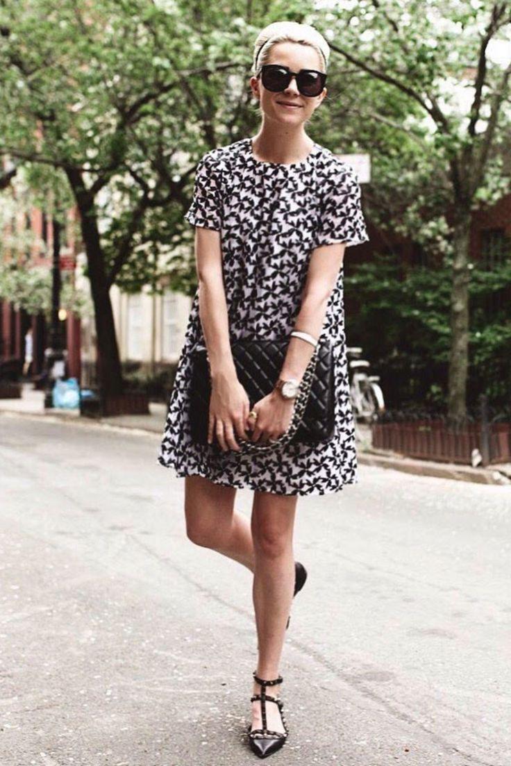 vestido-corto-look-oficina-en-verano