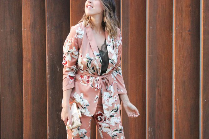 Pijama Suit – Wedding guest look