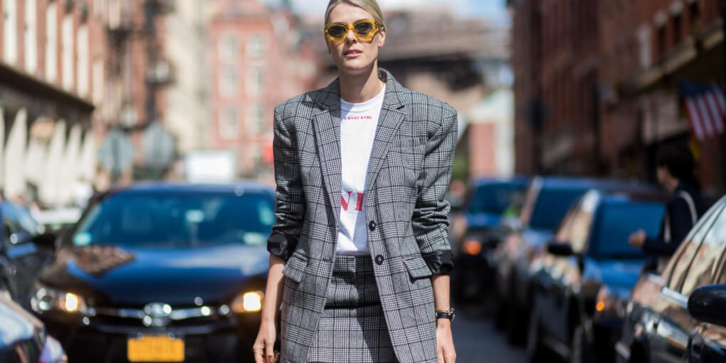 Low-costs shops where you can buy a checked blazer now!