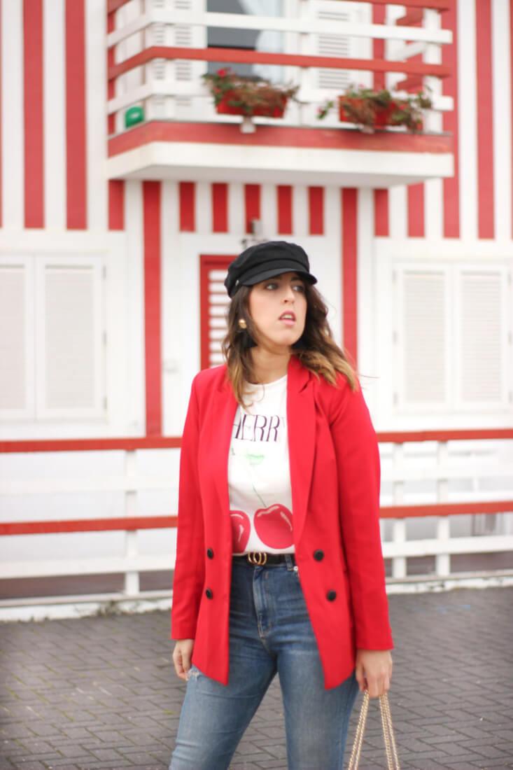 Blog de Moda Siempre Hay Algo Que Ponerse. Camiseta con cerezas Zaful