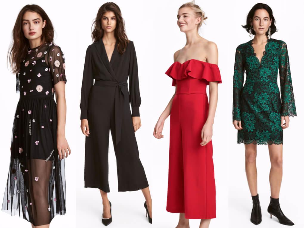 Looks de fiesta para navidades 2017. H&M
