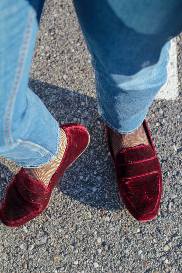 pendientes-pompones-slipper-terciopelo-velvet-shoes