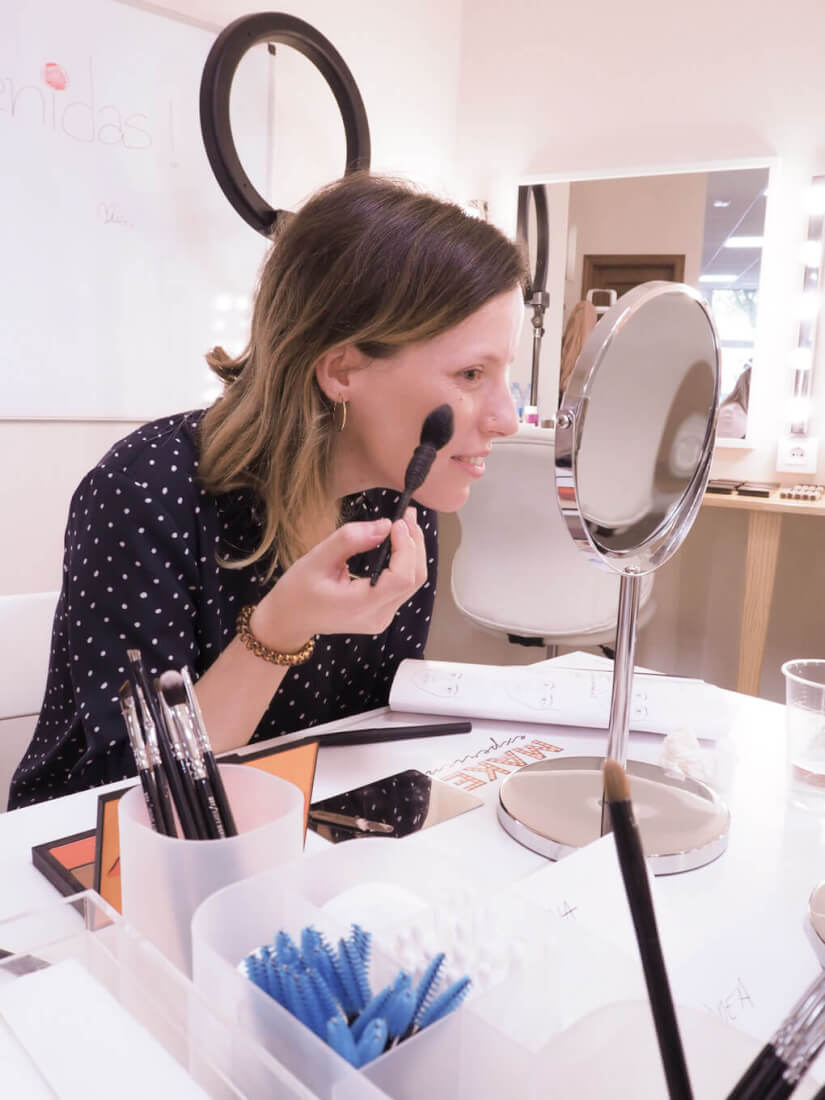 aprende a maquillarte make up experience con ana albiol