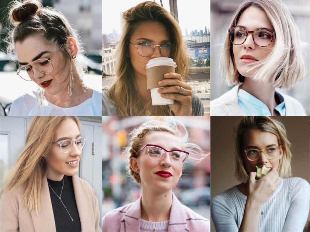 Gafas de vista con mucho estilo