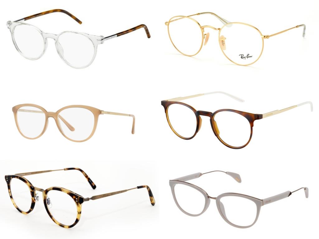 Gafas graduadas con monturas de colore neutro