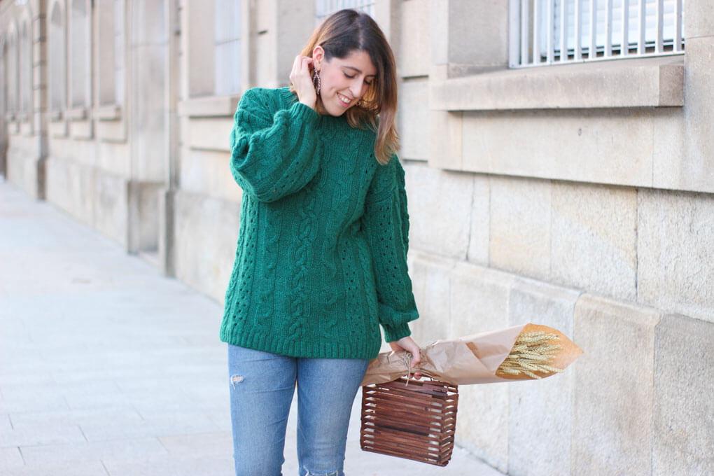 Jersey verde de ochos